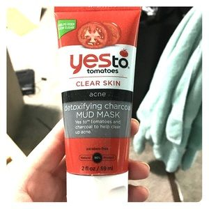 Yes to tomatoes charcoal mask